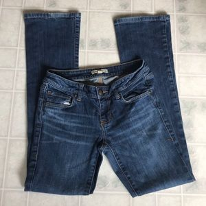 CAbi size 2 baby boot cut jeans